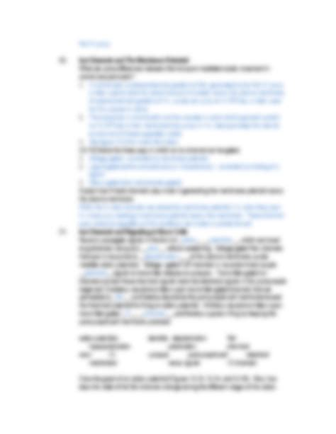Moving Cellular Materials Worksheet Answers by Worksheet 6 Answers Docx Cell Biology 2200 With Waters