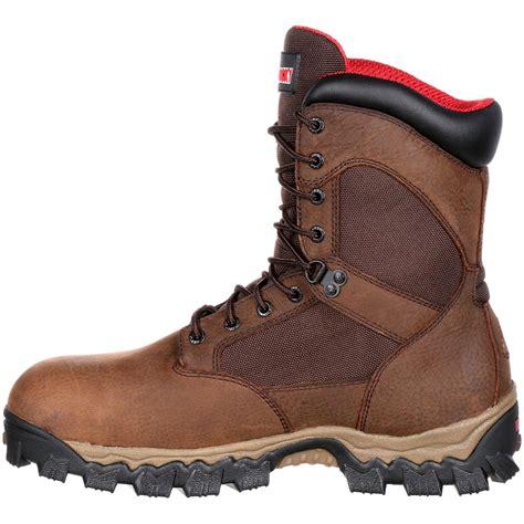 comfortable waterproof work boots rocky alphaforce composite toe waterproof comfort work boot