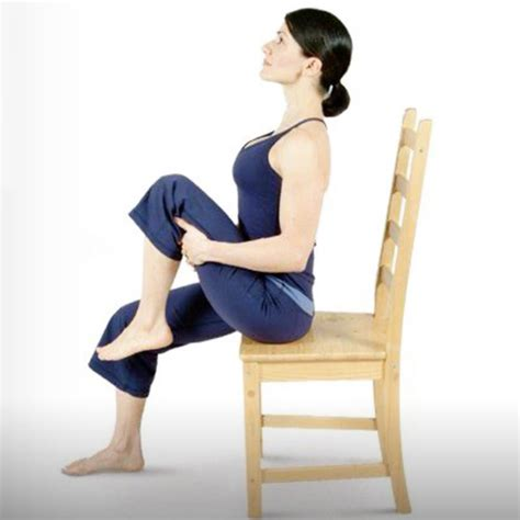 easy flat belly exercises    sitting