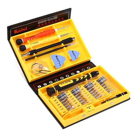 Kaisi 3801 Crv Screwdriver Kit Precision Tools Set Multifunctional For Kaisi Ks 3801 Crv 38 Pieces In 1 Precision