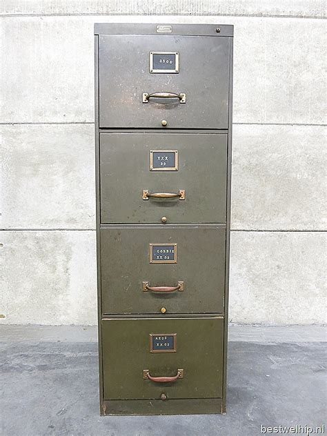 Allsteel File Cabinet Parts by Vintage Industrial Desk With File Cabinet