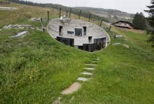 underground home swiss underground mountain house delood