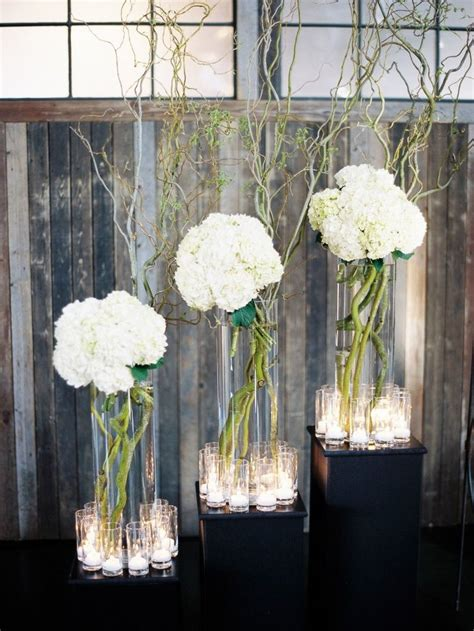 contemporary centerpieces adorn the table the modern centerpiece wedding