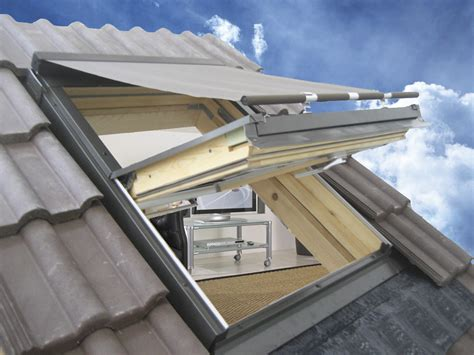 ventanas en techo cortina para ventanas de techo de tela para exterior by claus