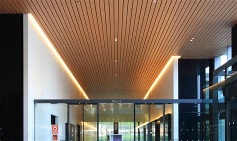 Spandrel Ceiling Installation by Fortina B N Industries