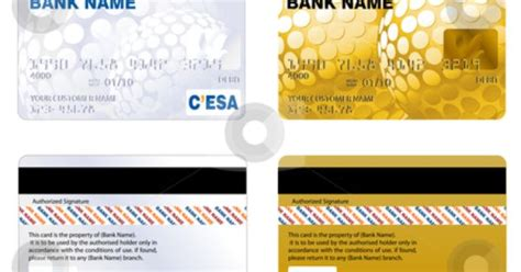 Credit Card Template For Students Printable Play Credit Card Templates Credit Card Stock Vector Clipart Professional Design And