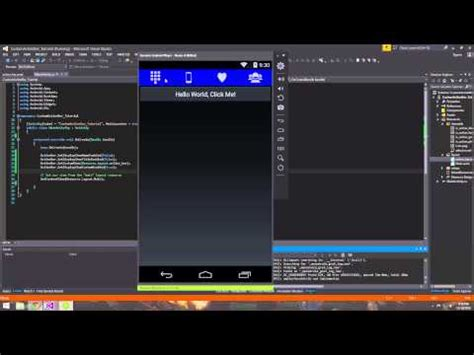 xamarin studio tutorial android pdf xamarin android tutorial 26 creating a custom action bar
