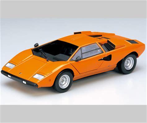 Lamborghini Countach Orange Kyosho Lamborghini Countach L400 Orange 08321p In 1