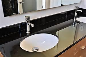 Essex Vanity With Black Granite Countertop Bathroom Vanity Tops Granite4you Granite Worktop And