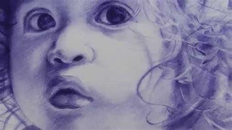 dibujos realistas boligrafo retrato dibujo bol 237 grafo 1 hd youtube