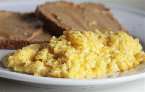 best scrabbled eggs scrambled eggs espresso and creamespresso and