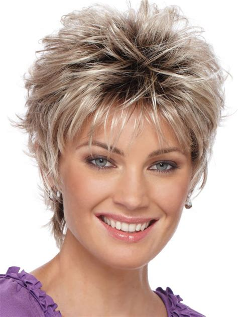 long and spiky shaggyhaiecuts christa synthetic pure stretch cap wig by estetica designs