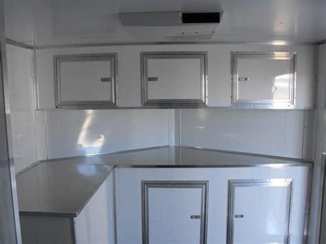 cabinets appealing enclosed trailer cabinets design base