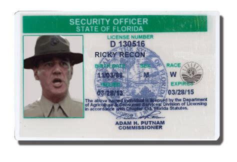 Security Officer License by Florida D License Renewal Security Guards Companies