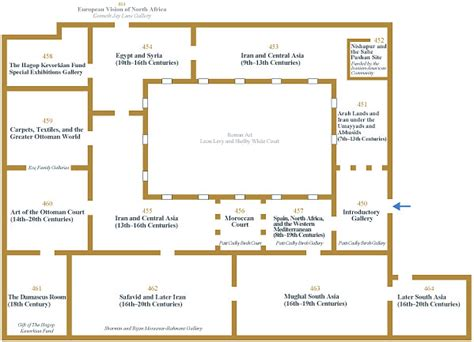 Art Gallery Floor Plans by The Metropolitan Museum Of Art Galleries For The Art Of