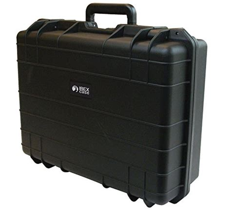 Rugged Equipment by Ibex Cases Black Watertight Rugged Protective
