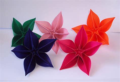 imagenes de flores origami paso a paso flores de papiroflexia paso a paso imagui