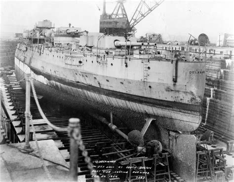 boat salvage yards south carolina uss delaware bb 28 in dry dock at the south boston annex