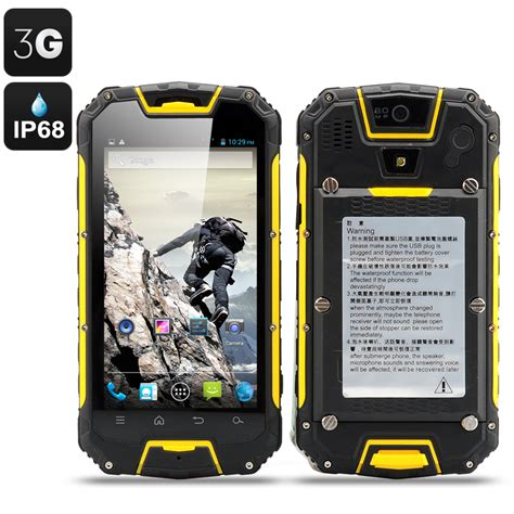 snopow m9 4 5 inch rugged 3g android smartphone with