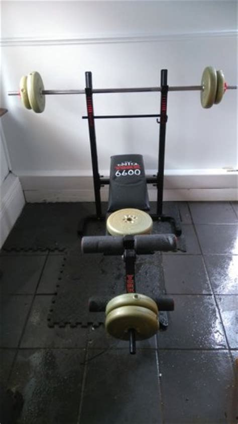 York 6600 Bench York 6600 Bench Plus Weight For Sale In Tallaght Dublin