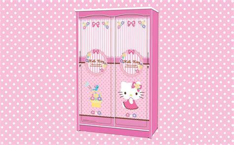Lemari Pakaian Anak Karakter jual wardrobe lemari pakaian anak slidding karakter hello