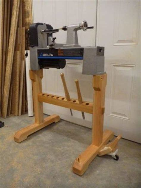 wood lathe bench make lathe stand pdf plans 3d timber figure patterns free