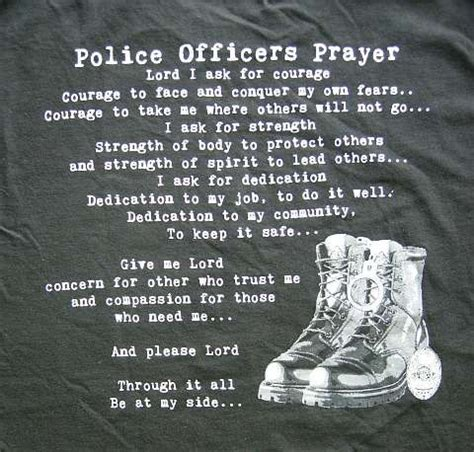 Officers Prayer by Officer Prayer Quotes Quotesgram