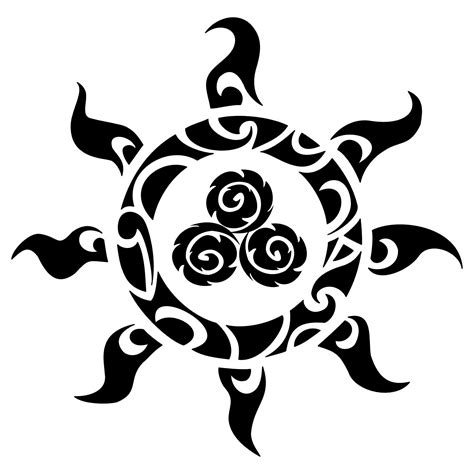 tribal sun tattoos meaning the gallery for gt rebirth symbols and meanings