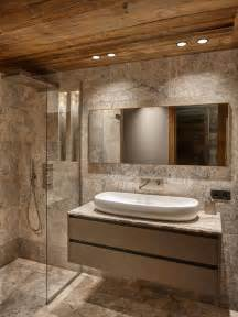 Floor Plan Designs For Homes Salle De Bain Avec Un Sol En Travertin Photos Et Id 233 Es