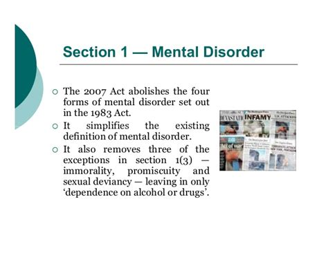 what is section 17 mental health act mental health act 2007