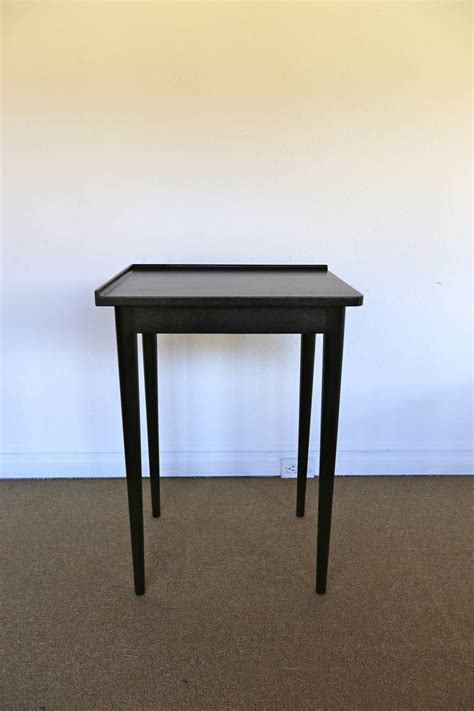 tall corner accent table tall corner table by edward wormley for dunbar at 1stdibs