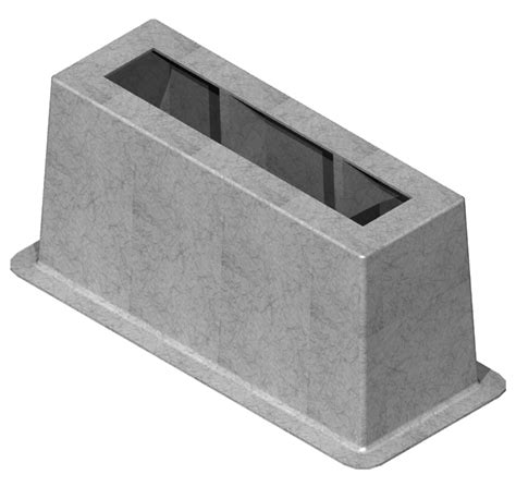 sectionalizer cabinet fibercrete box pads designed to support sectionalizer