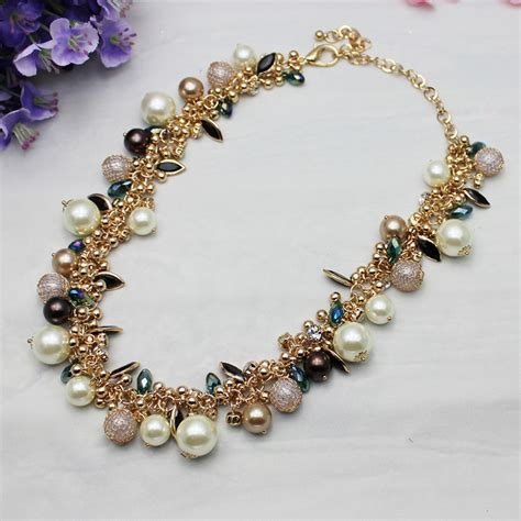 Beautiful Handmade Jewelry - 2014 most popular styles exquisite necklace pearl