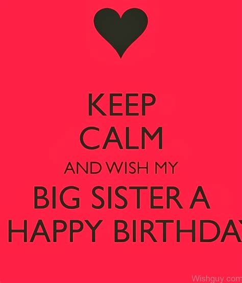 Big Happy Birthday Wishes Birthday Wishes For Sister Wishes Greetings Pictures
