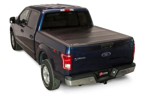 f150 bed covers 2015 2017 ford f 150 hard folding tonneau cover bakflip