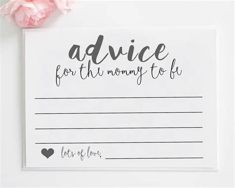 To Be Advice Cards Template new advice card template images
