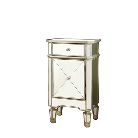 Commode Argent by Monarch Specialties Commode Argent Brosse Miroir