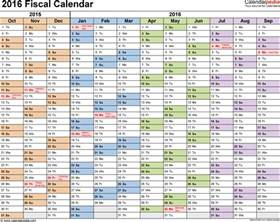 12 Week Year Templates by Fiscal Calendars 2016 As Free Printable Pdf Templates