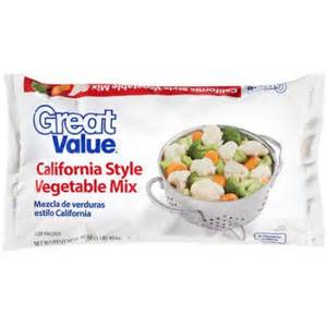 California Value Great Value California Style Vegetable Mix 16 Oz