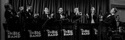 modern swing bands the mini big band swing band function band yorkshire
