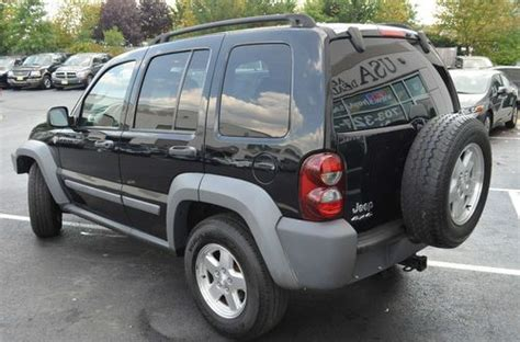 Jeep Liberty 4 Wheel Drive Find Used 2005 Jeep Liberty Sport Sport Utility 4 Door