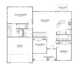 simple open floor house plans 104 best house floor plans images on