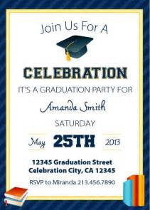 graduation invitation templates free printable free graduation invitations you can print from home