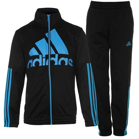 adidas tracksuit adidas kids boys junior 3s max polyts tracksuit top