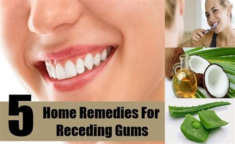 gums pulling away from teeth home remedy 28 images