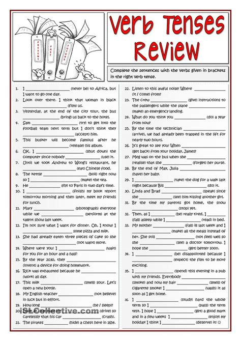 Tenses Review best 25 verb tenses exercises ideas on
