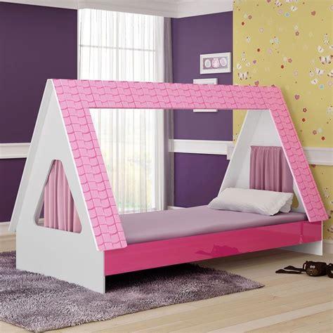 cama infantil cabaninha exclusiva solteiro menina r 529