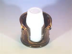 bronze bathroom cup dispenser bronze bathroom cup holder 5 oz pottery bathroom cup