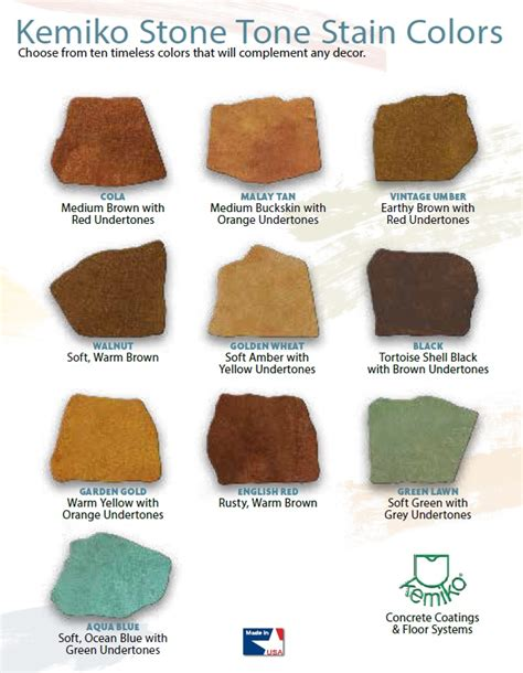 Emiko Wash color charts fort worth tx lone power wash concrete floors