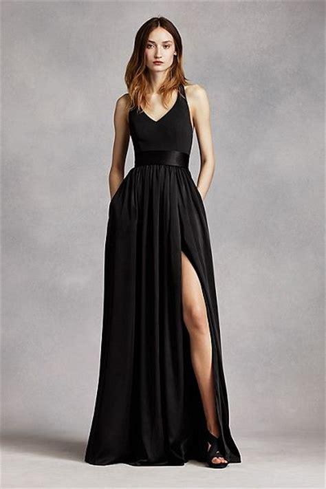 17 best ideas about black bridesmaid dresses on